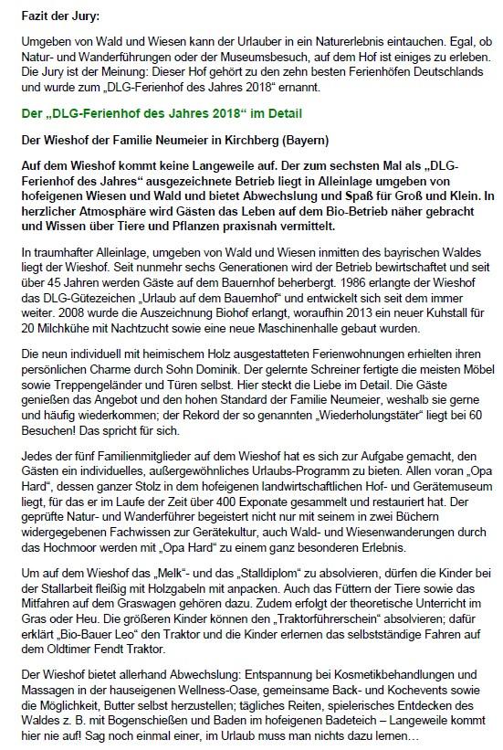 Erlebnisurlaub Bayern Erlebnishof Bayerischer Wald Biohof Ferienhof